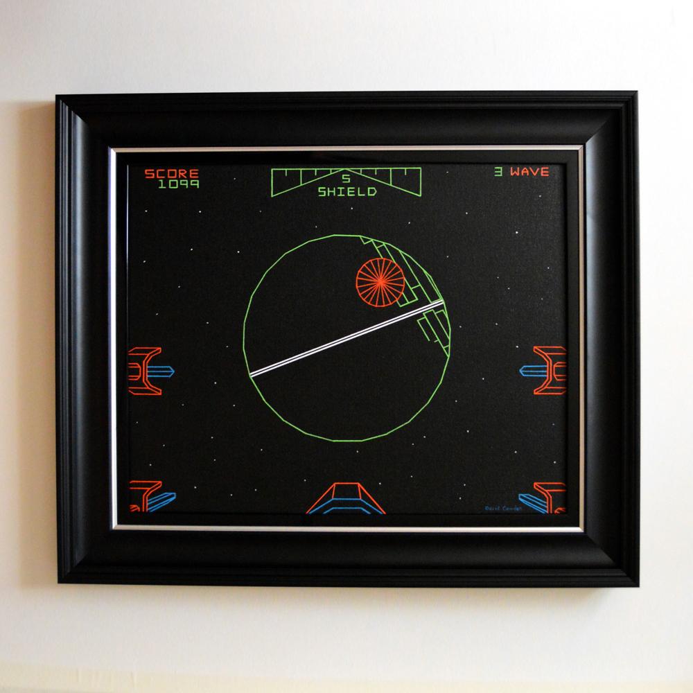 Death-Star-Original-Framed