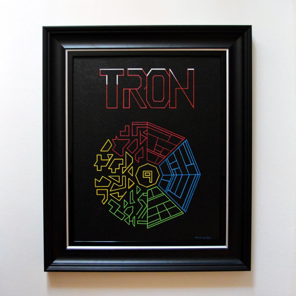 Tron-Framed-Original