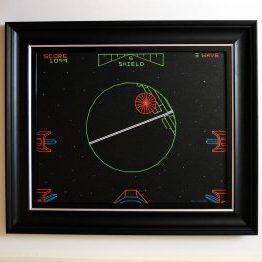 Death Star Original Framed