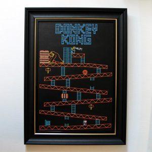 Donkey-Kong-Original-Framed
