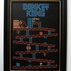 Donkey Kong Original Framed
