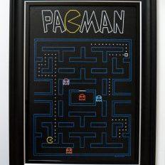 Pac Man Original Framed
