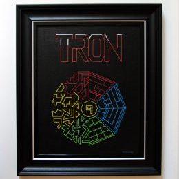 Tron Framed Original